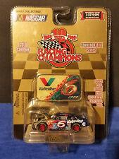 1999 Racing Champions Gold Chrome 1 of9,999 #6 Mark Martim Valvoline