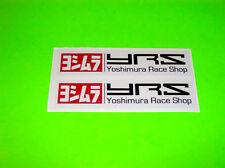KX KXF CR CRF YZ YZF RM RMZ 125 250 450 YOSHIMURA EXHAUST RACE SHOP YRS STICKERS