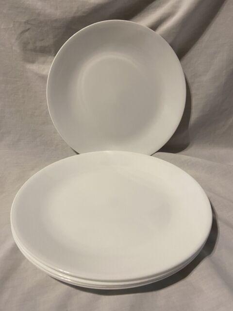 Corelle Livingware Winter Frost White 8 5 Divided Lunch Plate Set Of 4 For Sale Online Ebay