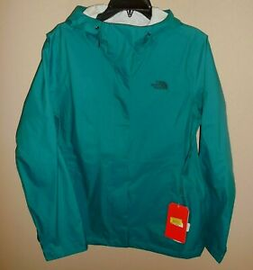 The-North-Face-Womens-Small-Venture-2-Jacket-Everglade-Green-New-Waterproof-Coat