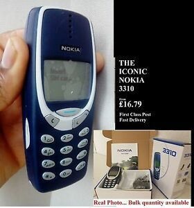Original Nokia 3310 Mobile Phone Boxed New Warranty First Class Uk Stock Ebay