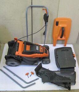 Black-amp-Decker-EMax34i-Compact-amp-Go-Elektro-Rasenmaeher-1-4kW-34cm-Rechnung-Y05538