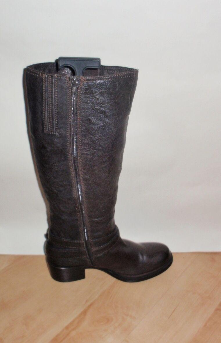 Clarks damen damen damen MAGICIAN CLASS knee length leather winter riding Stiefel Größe UK 5.5  | Schönes Aussehen  6908a9