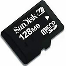 128MB SanDisk 128MB Micro SD Class 4  TF Memory Card C4 Genuine For Cellphones