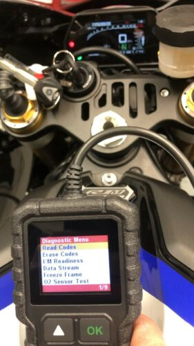 Yamaha  FI OBD2 fault code scanner diagnostic tool T-MAX 560 2020