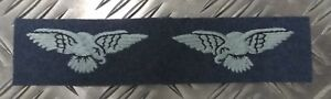Genuine-Vintage-British-Royal-Air-Force-Swooping-Eagles-Shoulder-Patches-RAFB05A