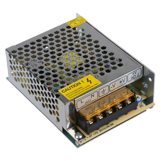 60W Switching Switch Power Supply Driver for LED Strip Light DC 12V 5A H8D1