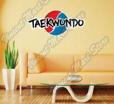 "Taekwondo Martial Arts Fight Sport MMA Wall Sticker Room Interior Decor 25""X12"""