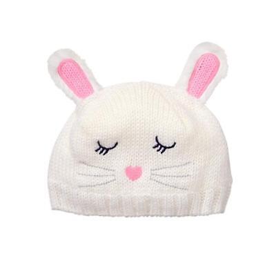 NWT Gymboree Fairytale Forest Blue Fawn Deer Baby Girls Beanie Hat 0-12 12-24 M