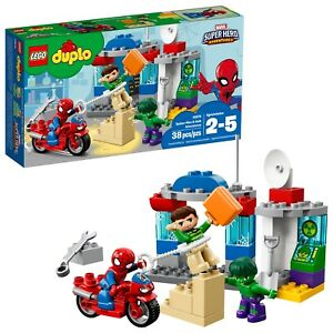 LEGO-DUPLO-Marvel-Super-Heroes-Spider-Man-amp-Hulk-Adventures-10876-38-Pcs