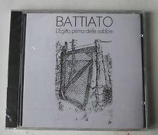 #  BATTIATO FRANCO - L'EGITTO PRIMA DELLE SABBIE  -  CD NUOVO SIGILLATO -