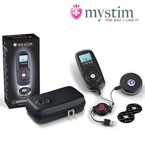 Mystim - Cluster Buster Wireless eStim Device Starterkit Kit elettrostimolazione