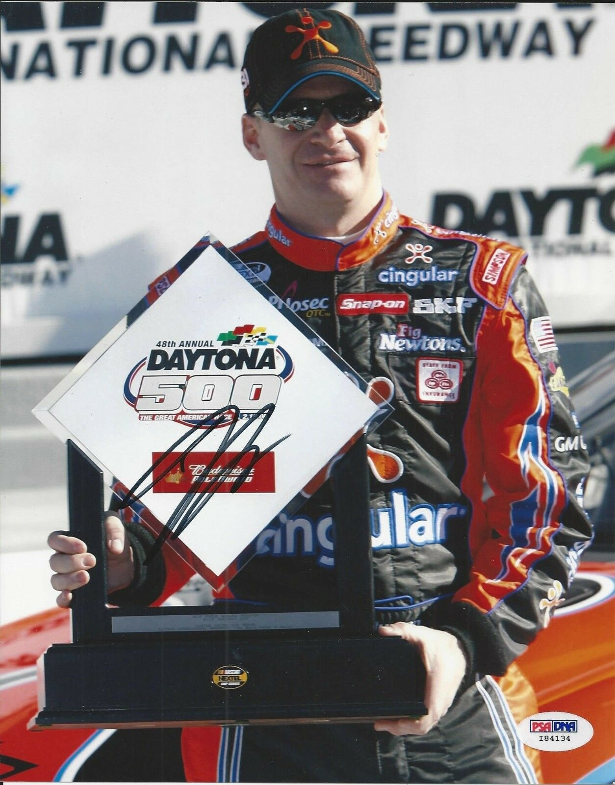 Jeff Burton Signed Nascar 8x10 Photo PSA/DNA # I84134