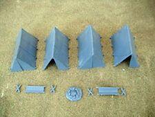 Renedra Plastic Ridge Tents - For 28mm Wargames - Bolt Action ACW and Fantasy