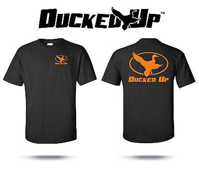 Ducked Up Apparel,duck hunting t shirt,blind,funny,decoy,hunter,short sleeve