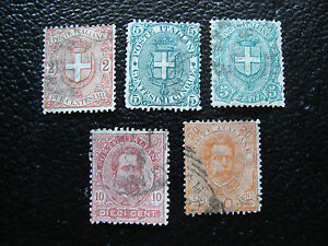 Italy-Stamp-Yvert-and-Tellier-N-56-A-60-Obl-A11-Stamp-Italy-R