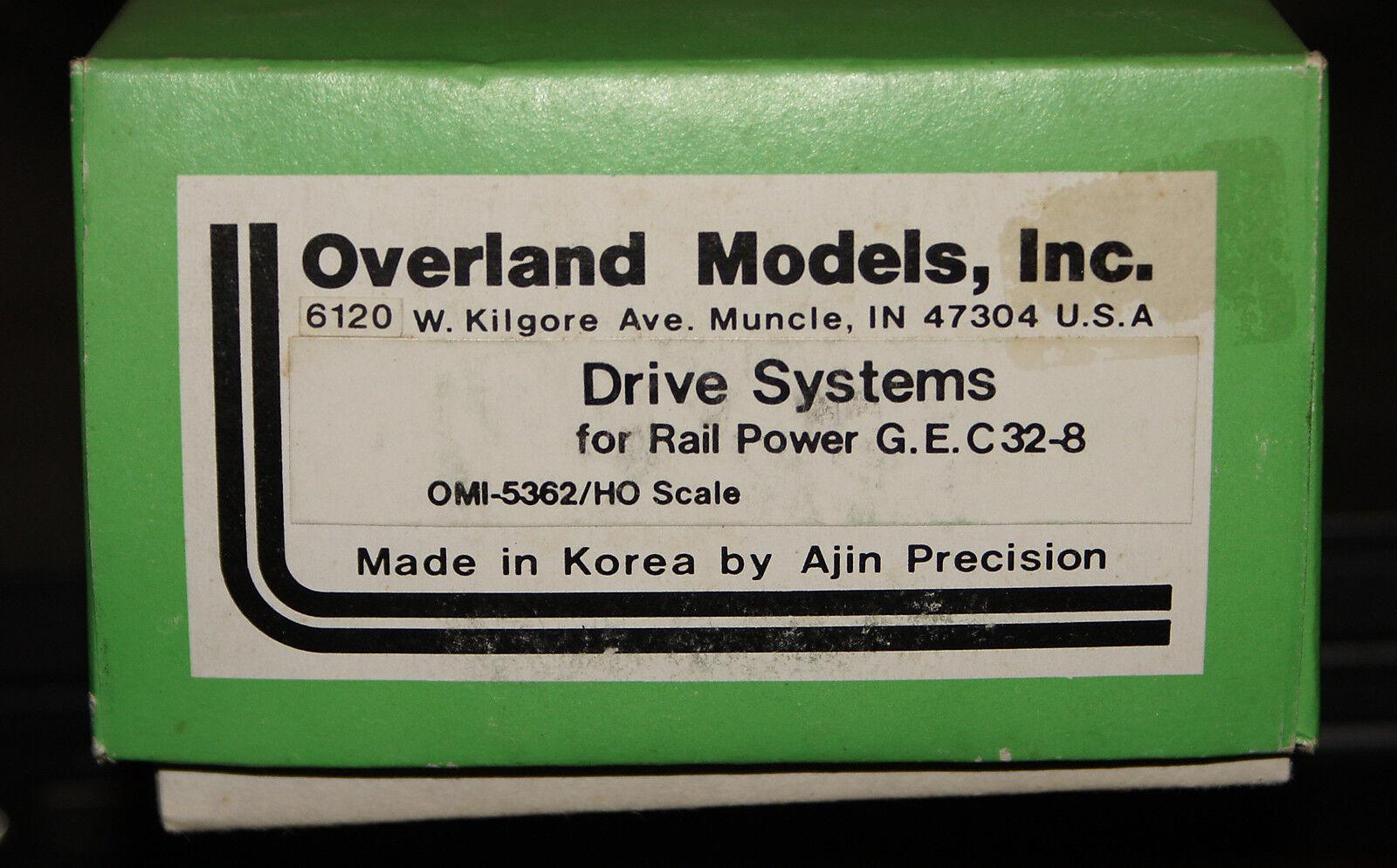 Overland HO G.E. C32-8 Un-Powered Drive with Sideframes  OMI-5362  NIB