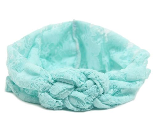 Kids Girl Baby Toddler Lace Flower Headband Hair Band Accessories Headwear TGS