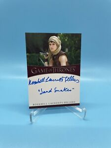 2021 Rittenhouse Game of Thrones Rosabell Laurenti Sellers as Tyene Sand Auto