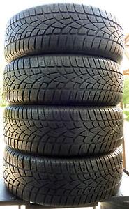 4x-Pneus-hiver-Dunlop-235-60-r17-SP-Sports-D-039-Hiver-3d-a0-102-H-6-mm-Soldes