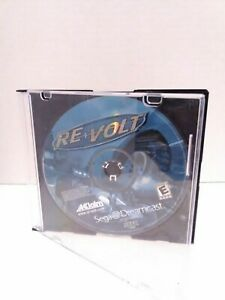 REVOLT SEGA DREAMCAST DISC ONLY Professionally Resurfaced TESTED Fast Ship!