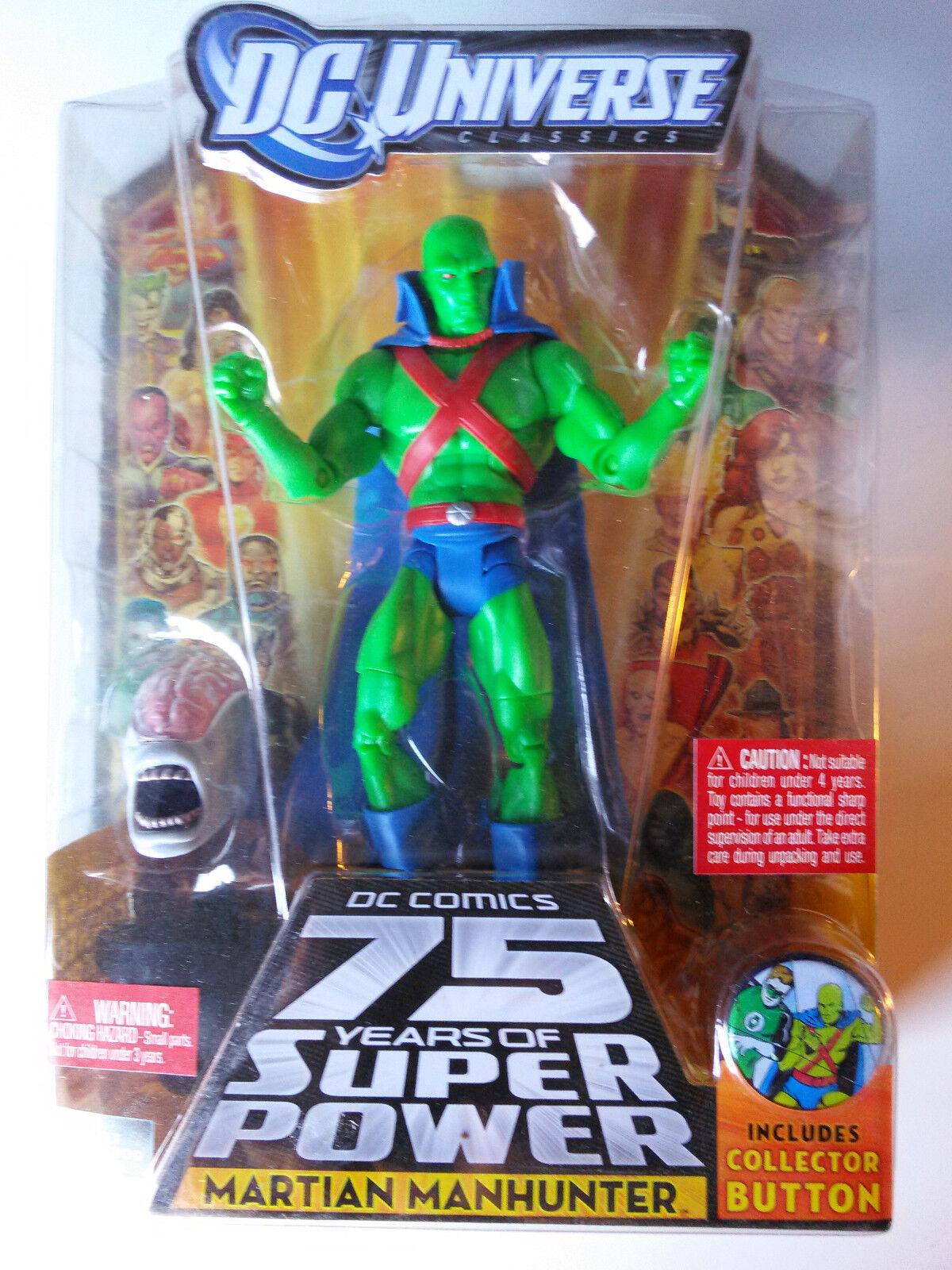 DC Universe C&C Martian Manhunter 75 Years Wave 15 15 15 NEW 93e905