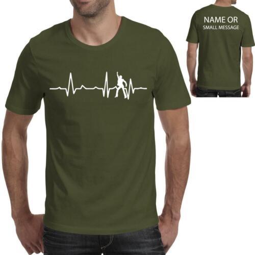Heart Love Beat Dancing Party Club Dancer Funny Mens Printed T shirt