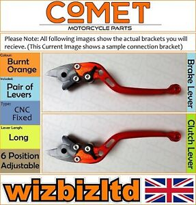 Ducati 999 Biplace 2002-2003 [Long Orange] [ Comet Réglable Course Levier]