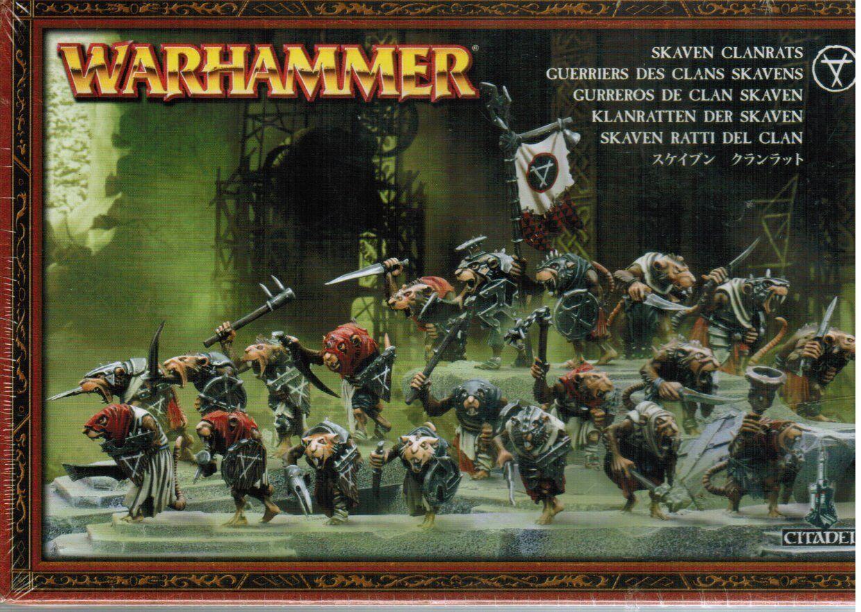 Skaven Clanrats Warhammer Fantasy Sealed 90-06
