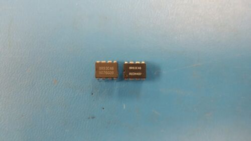 10 PCS BR93C46 ROHM 64X16 MICROWIRE BUS SERIAL EEPROM PDIP8
