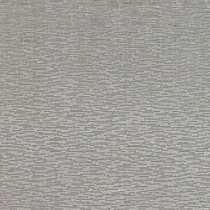 Larsen Textured Cut Uncut Velvet Upholstery Fabric Hiro Silver 3 50