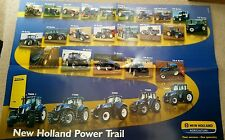 FORD NEW HOLLAND TRACTOR POWER TRAIL POSTER