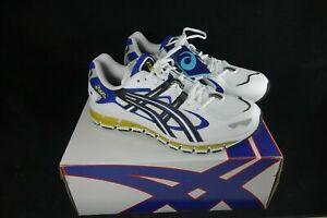 Asics-Gel-Kayano-5-360-White-Black-Men-039-s-Running-Shoes-Size-9-USA-1021A159-100