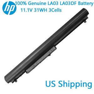 Genuine-OEM-LA03-LA03DF-Battery-for-HP-776622-001-752237-001-15-F010DX-15-F033WM