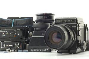 Quasi-Nuovo-Mamiya-RB67-Pro-SD-Con-K-L-90mm-F3-5-L-3-titolare-dal-Giappone-1942