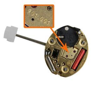 Echt Eta 901.001 Quarz Kaliber Movement 1 Hand 5 Juwelen Ligne 1/2 X 6 3/4 Ruf Zuerst Vintage-mode Kleidung & Accessoires