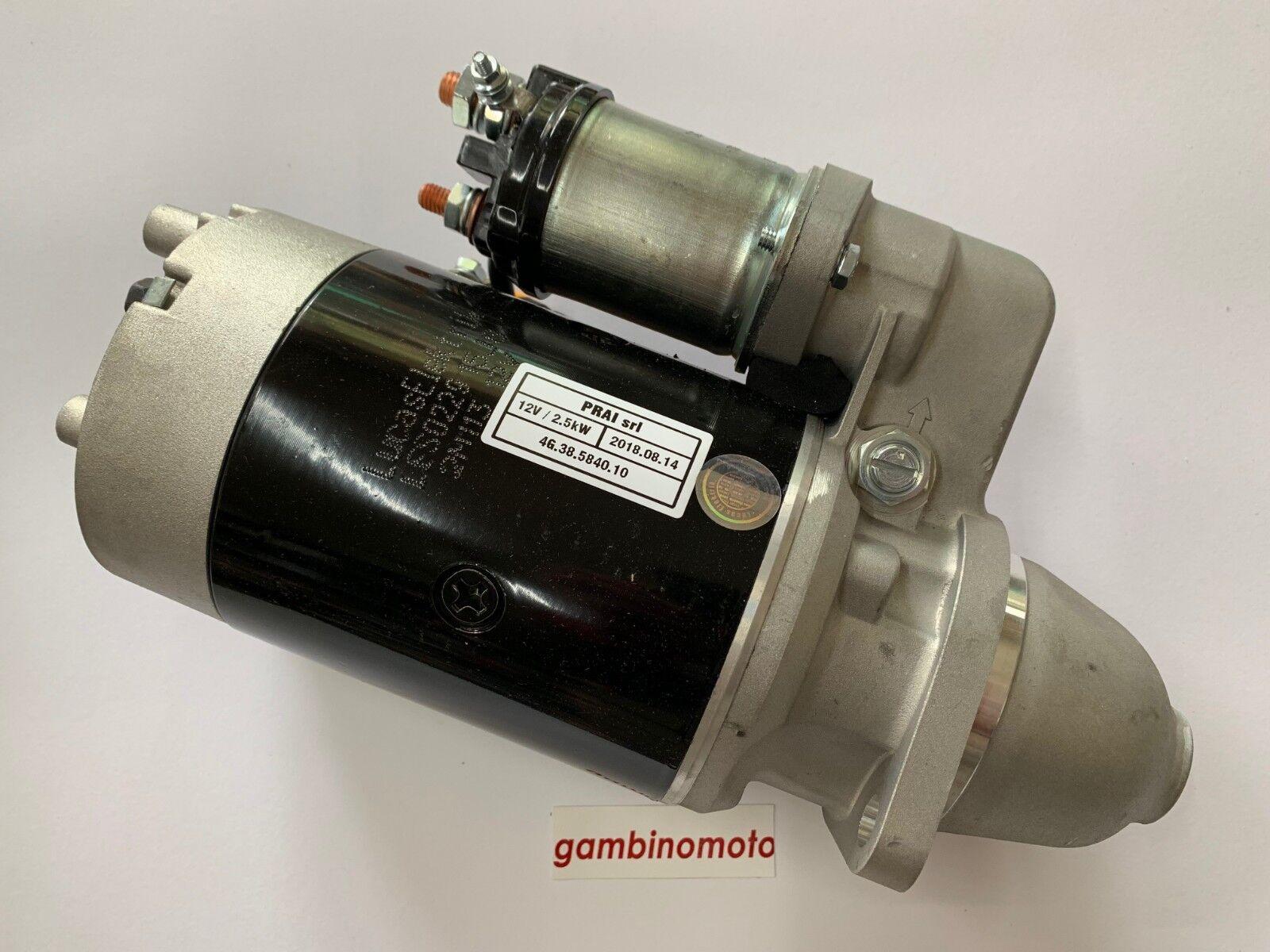 MOTORINO AVVIAMENTO ELETTRICO LOMBARDINI 4LD-LDA91-LDA96 12V-2,5 KW 9 DENTI