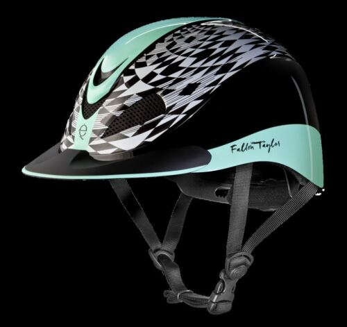 Troxel Fallon Taylor Western Riding Helmet with DialFit and Mesh Vents ASTM//SEI