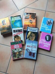 Lot-de-9-livres-relies-France-loisirs