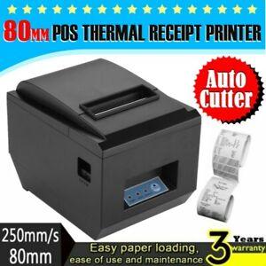 Details about 250mm/sec 80mm ESC/POS Thermal Dot Receipt Bill Printer  AUTO-CUT Roll Paper USB