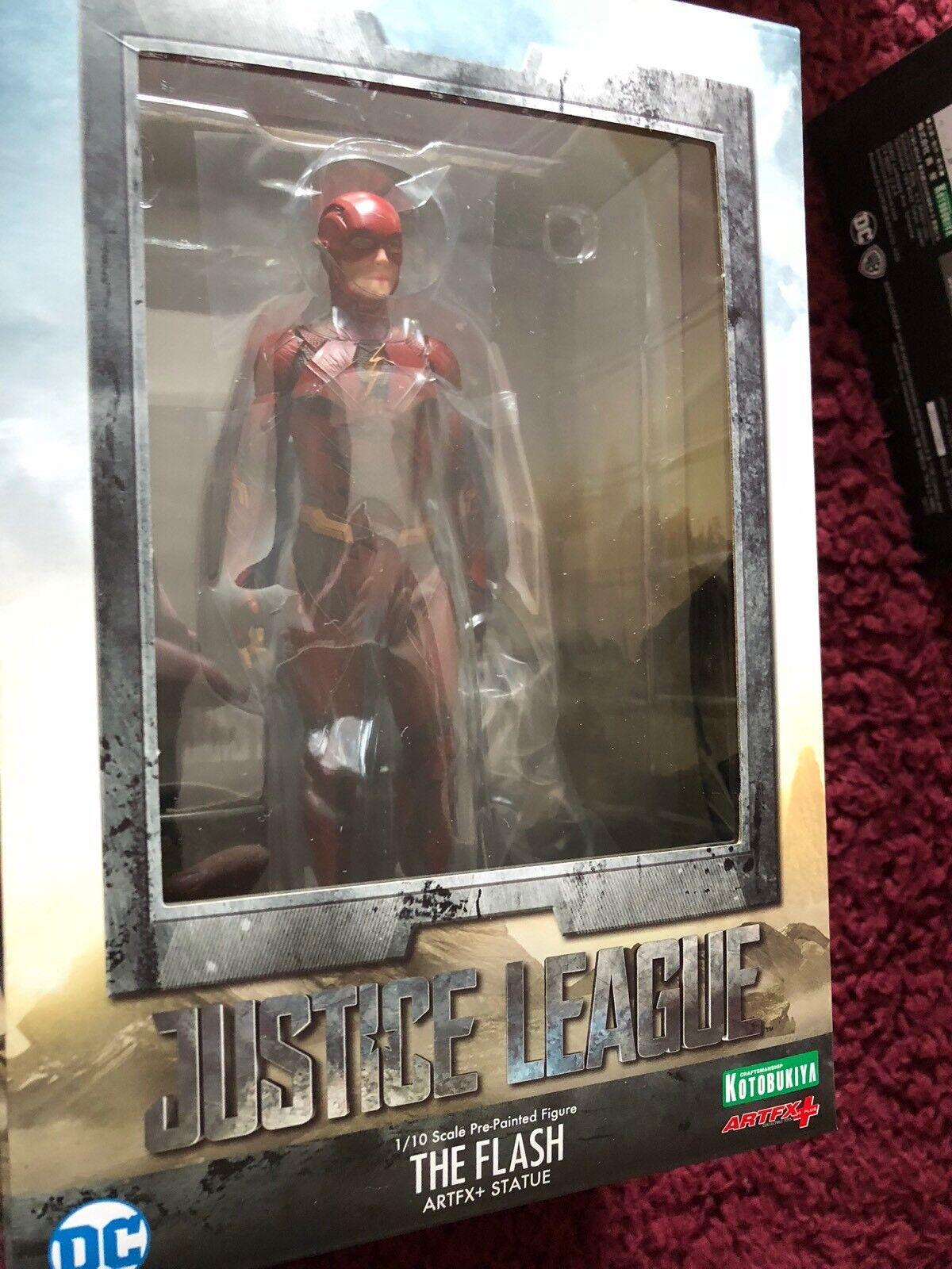 Il Flash Justice League League League Film ARTFX 18cm cifra Set c77cd1