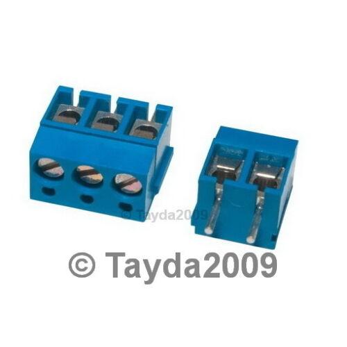 FREE SHIPPING 5 x DG300 Screw Terminal Block 3 Positions 5mm