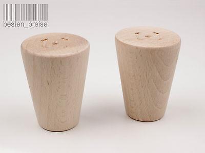 BUCHEN HOLZ NDR03 Ø100 Möbelfüße Möbelfuß Schrankfüße Schrankfuß Holz Buche