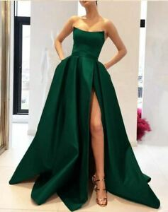 Formal Dress Strapless Prom Dresses