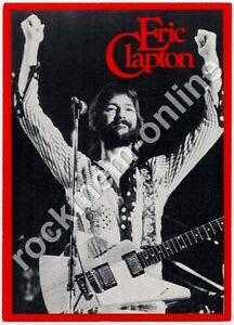 Eric Clapton RSO Records FlyerPostcard 1975 - London - England, United Kingdom - Returns accepted Most purchases from business sellers are protected by the Consumer Contract Regulations 2013 which give you the right to cancel the purchase within 14 days after the day you receive the item. Find out mo - London - England, United Kingdom