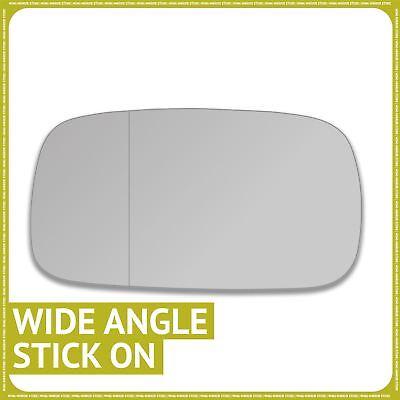 Pour Audi A3 10-12 droit côté conducteur Aile Porte Miroir en verre avec plaque