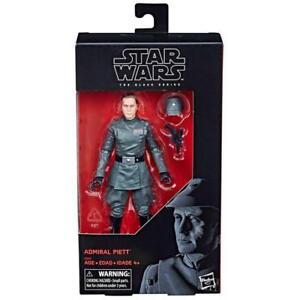 """Admiral Piett Star Wars Black 6/"""" Action Figure"""