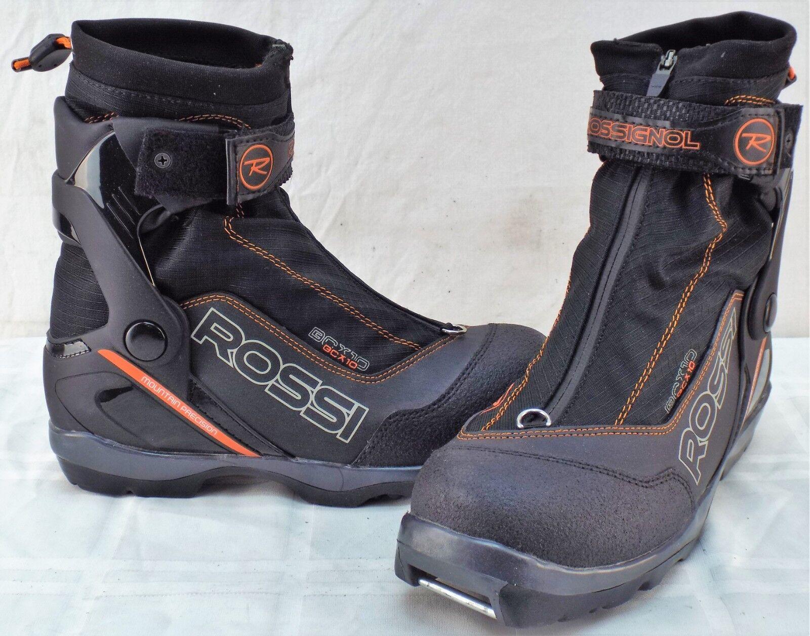 Rossignol BC X10 New Men's Cross Country Ski  Boots Size 41.0 Eu 8.5 US  100% genuine counter guarantee