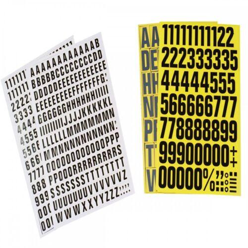 Magnetzahlen inkl Regalbeschriftung magnetisch 43mm hoch Sonderzeichen