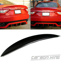 Item In La Unpaint For Maserati Gran Turismo Coupe Mc Sport Trunk Spoiler 2014